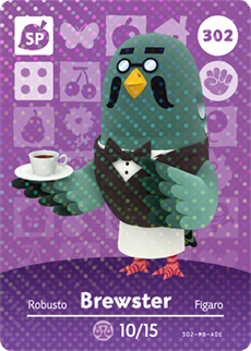 Brewster Card