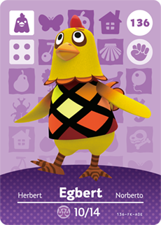 Egbert Card