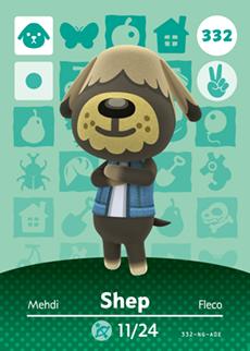 Shep Card