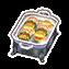 Warming buffet