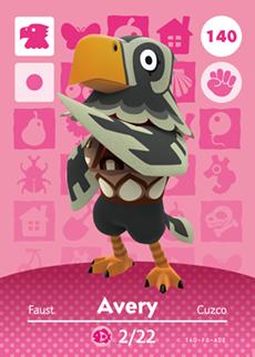 Avery Card