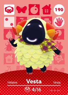 Vesta Card