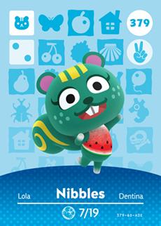 Nibbles Card
