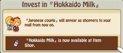 Invest Hokkaido Milk 2