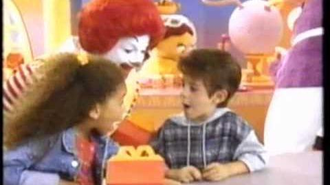 Happy Birthday Happy Meal 1994