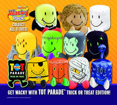 Sonic Tot Parade Trick or Treat Edition