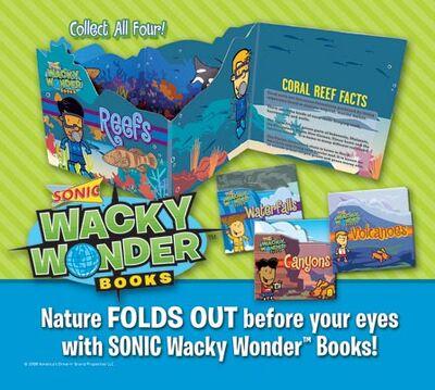 Sonic Wacky Wonder Books 2008
