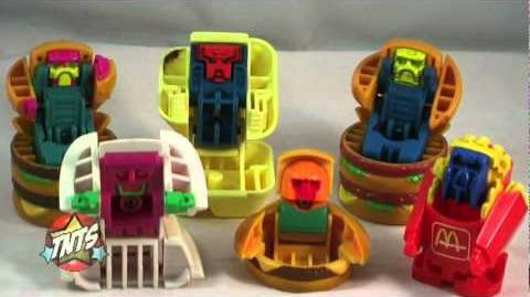 McDonald's Changeables Happy Meal Toy Video Review