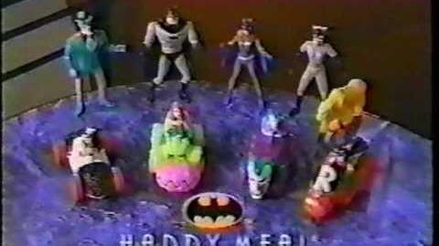 McDonalds Happy Meal Batman Commercial 1993