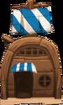 House Boat Cottage Level 1