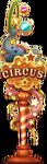 Decoration Circus Sign