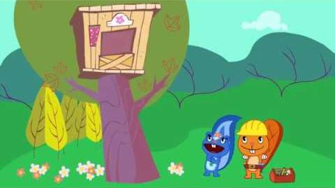 """Petunia;s voice from """"House Warming"""" reused in many Happy Tree Friends episodes."""