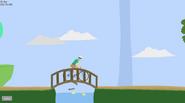 The bridge with the ducks