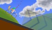 Dead Biker Riding His Bike