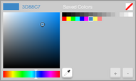 New color selector