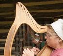 Wire Strung Harp