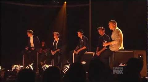 One Direction Performance - Little Things - LIVE performance from X Factor USA HD