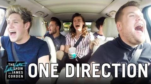 One Direction Carpool Karaoke