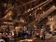 Concept photo of The Three Broomsticks Inn