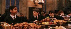 Dean at feast