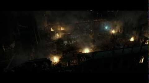 Harry Potter and the Deathly Hallows part 2 - Courtyard battle part 2