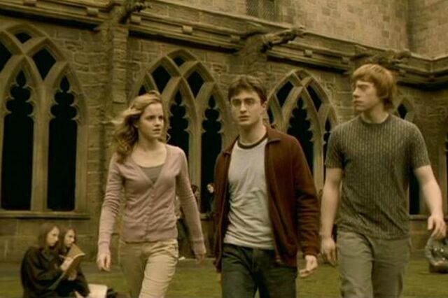 File:Harry Potter got the idea of Two Vanishing Cabinets after passing the Carrow twins.JPG