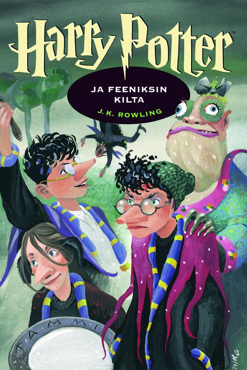 Image result for finnish harry potter covers