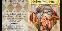 Madam Irma Pince (Trading Card)