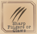 Beast identifier - Sharp Fingers or Claws