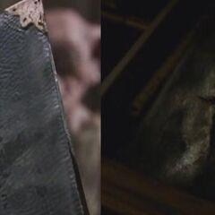 Уничтоженный дневник во втором фильме и в последнем