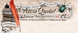 Accio Quote Logo