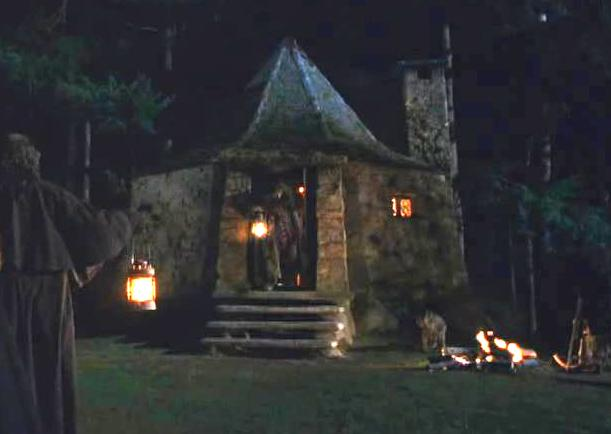Image hagrid 39 s hut at harry potter wiki What house was hagrid in