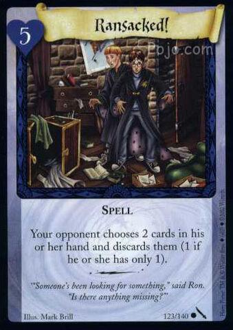 File:Ransacked! (Harry Potter Trading Card).jpg