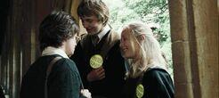 Hufflepuff's teasing Harry