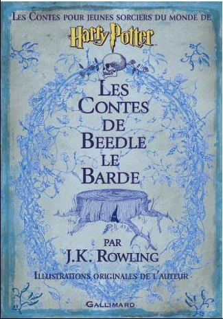 File:Tales of Beedle the Bard book Cover for French Version.jpg