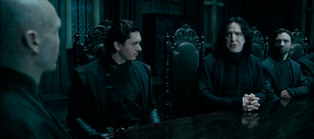 Snape & Voldemort discussing Harry Potter's whereabouts.png