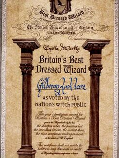 Britain's Best Dressed Wizard Award