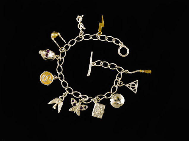 File:Harry Potter-themed charm bracelet by JKR.jpg
