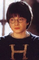 Harry In his New Jumper from Mrs Weasley