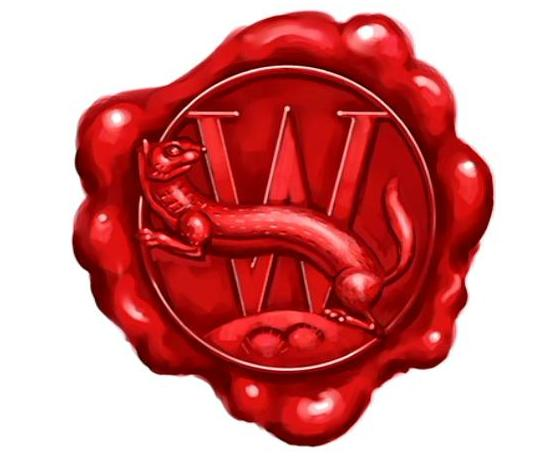 File:The Weasley wax seal (emblem) used in Ron Weasley's Howler 01.JPG