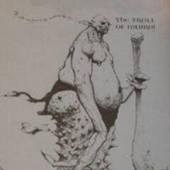 Тролль из Надрож