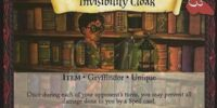 Invisibility Cloak (Trading Card)