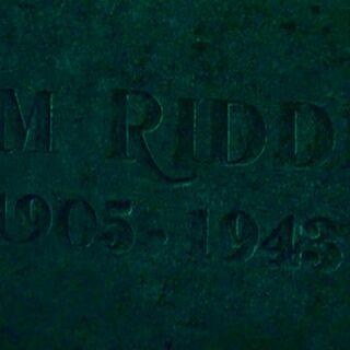 Надгробие Тома Реддла старшего