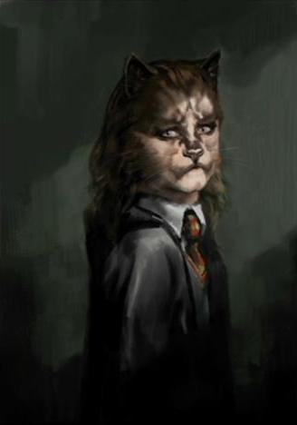 File:Hermione after drinking the Polyuice Potion (Concept Artwork) 02.JPG