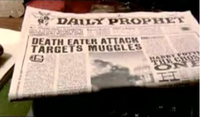 File:Daily Prophet on Death Eaters attack on Millennium Bridge.jpg
