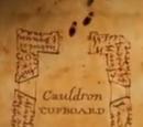 Cauldron cupboard