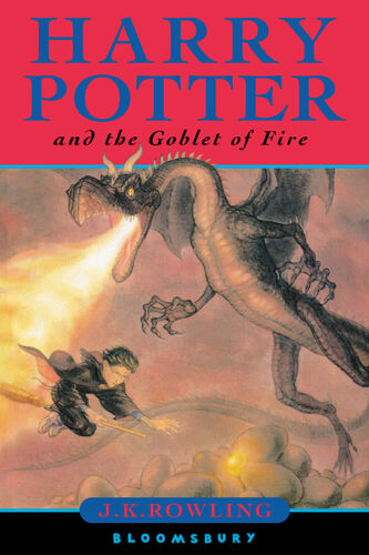 Harry Potter Book Front Cover ~ Harry potter and the goblet of fire wiki