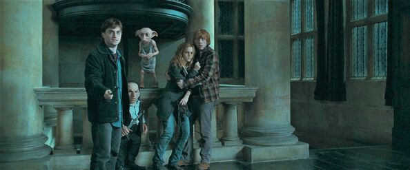 File:07 Dobby rescuing Harry Potter, Griphook, Hermione and Ron.jpg