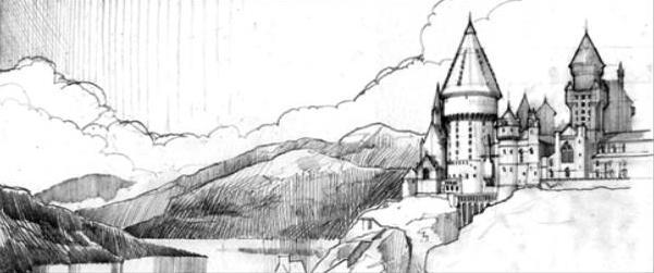 File:Hogwarts castle (Sketch Artwork).JPG