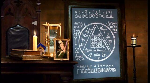 File:Professor McGonagall desk at Transfiguration classroom.JPG